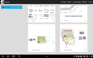 Screenshot of CAD Touch Pro