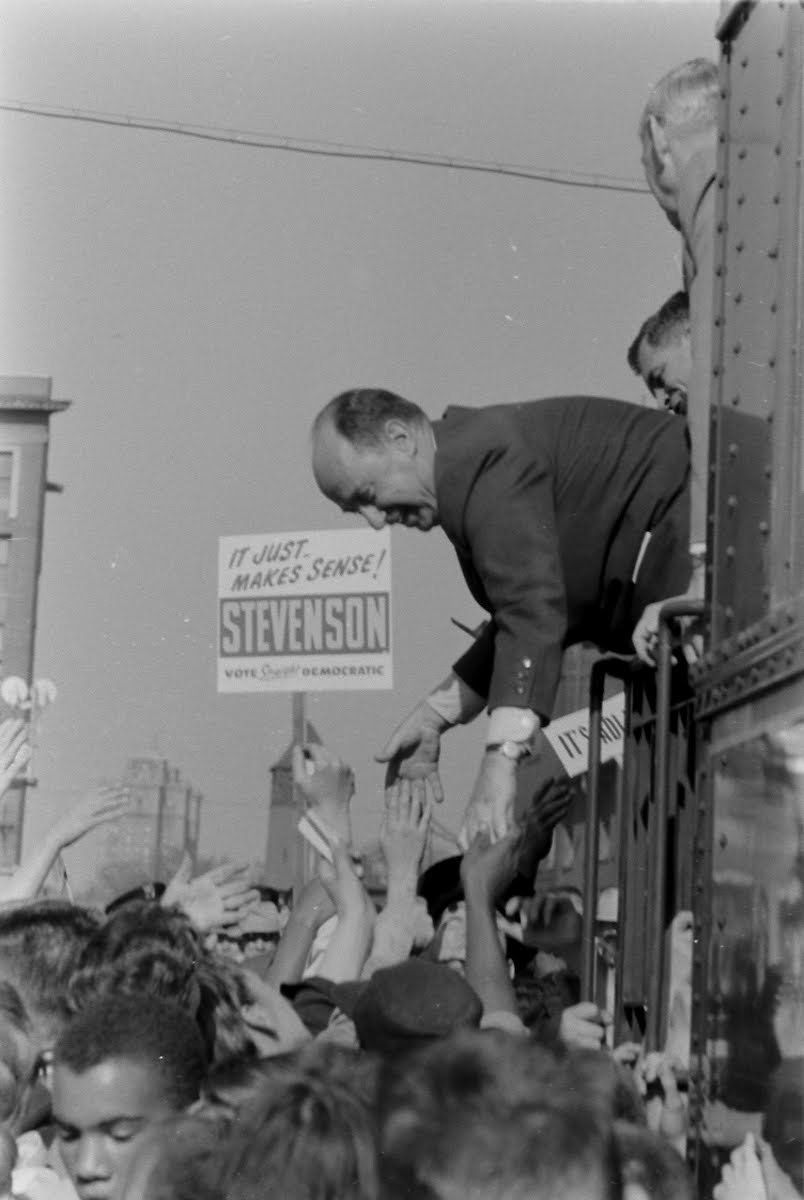 Aclai Stevenson Campaign In The Middle Captions West