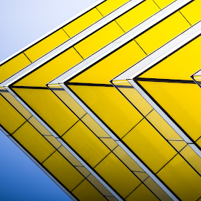 Attraction by Tommi Jo - Abstract Patterns ( building, london, yellow,  )