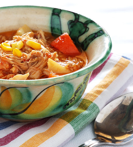 Stewed Chicken With Carrots And Potatoes
