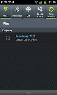 Beer Battery Widget - screenshot thumbnail