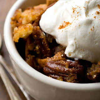 Pecan Cobbler With Sorghum Syrup.