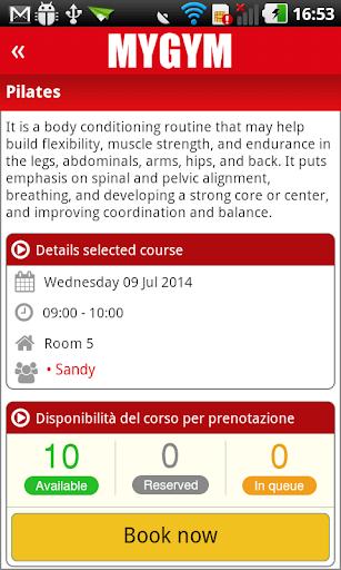 玩免費健康APP|下載MyGym Fitness Wellness centers app不用錢|硬是要APP