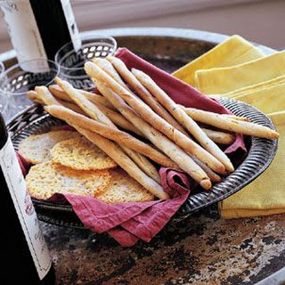 Sage Bread Sticks (Grissini alla Salvia)