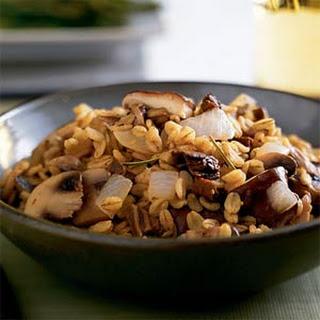Barley-Mushroom Pilaf Recipe