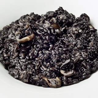 Black Rice with Squid.