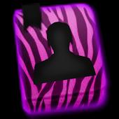 GO CONTACTS - Purple Zebra