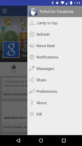 Tinfoil for Facebook 1.7.7 screenshots 2
