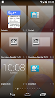 Screenshot of Countdown Calendar Widget
