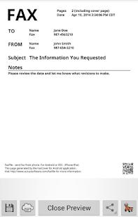 玩商業App|FaxCover Create Fax Cover Page免費|APP試玩