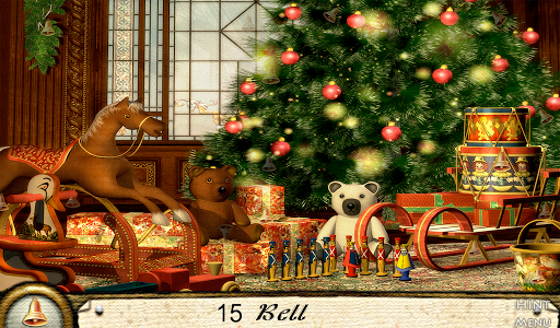 Hidden Objects Merry Christmas