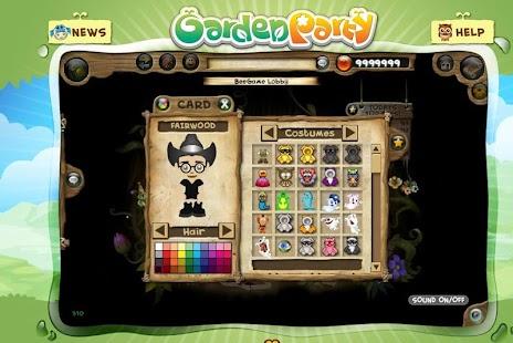 Garden Party Explorer