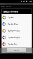 Screenshot of Synker Colorful Theme