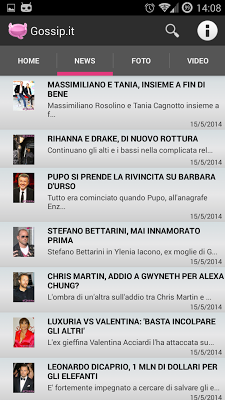 Gossip IT - screenshot