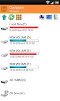 Screenshot of WiFi PC File Explorer Pro