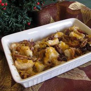 Christmas Bread Pudding.