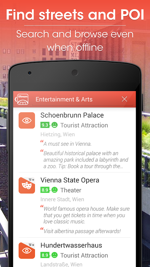 Vienna Travel Guide- screenshot