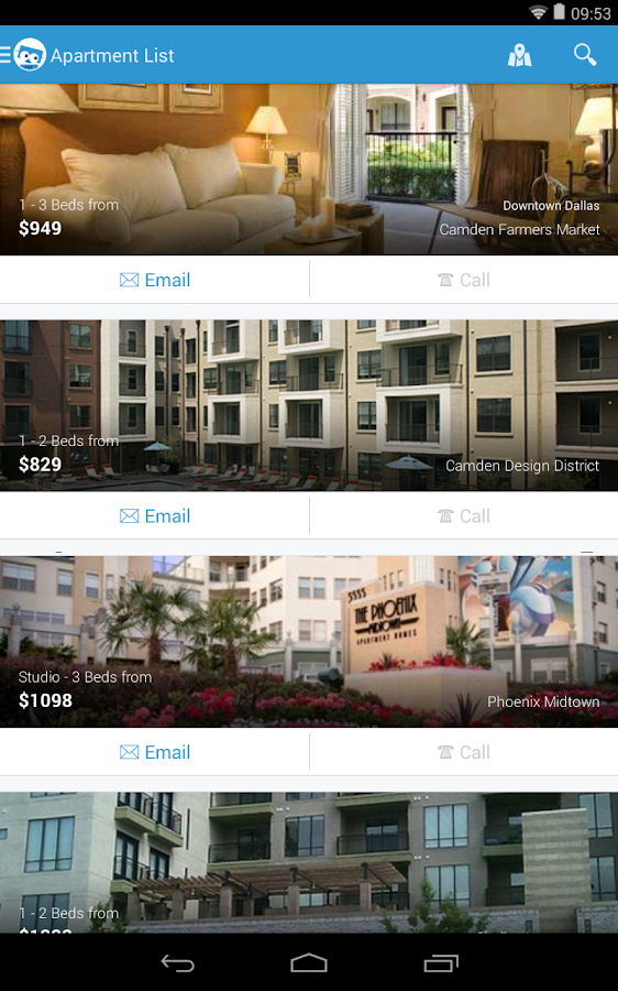 Apartments & Houses for Rent - screenshot