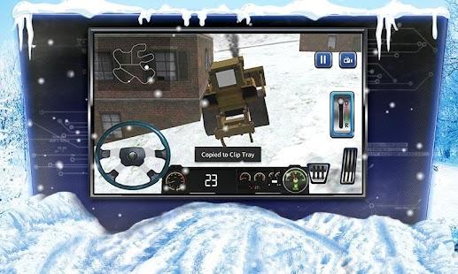 simulateur de camion moteur neige 3d apk 1 1 applications de simulation gratuit pour android. Black Bedroom Furniture Sets. Home Design Ideas