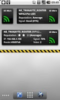 Screenshot of WifiWidget