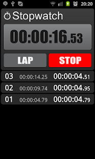 Stopwatch- screenshot thumbnail