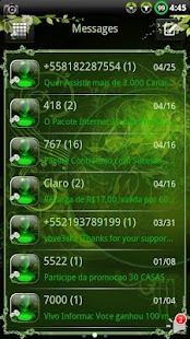 Nature v2 GO SMS Theme- screenshot thumbnail