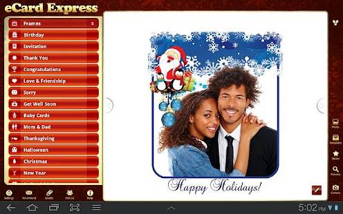 eCard Express HD - screenshot thumbnail