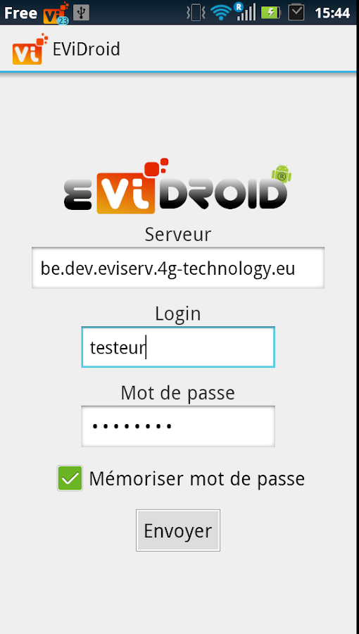 EViDroid- screenshot
