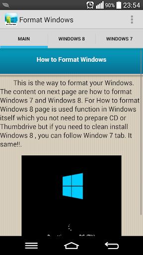 格式化Windows 7和8