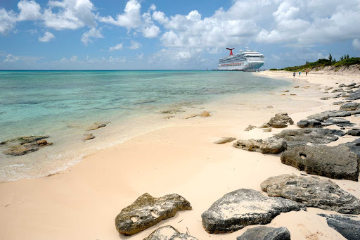 Carnival-Liberty-Grand-Turk-Island-beach - Explore beautiful Grand Turk Island on your next cruise to the Caribbean.
