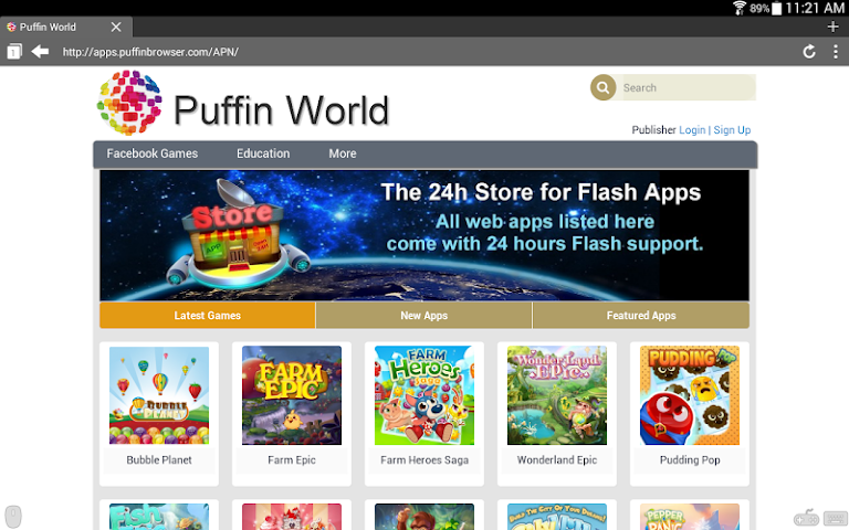 Puffin Web Browser 4.0.4.931