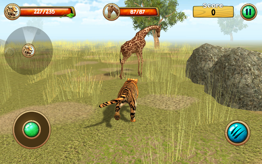 (APK) تحميل لالروبوت / PC Wild Tiger Simulator 3D ألعاب screenshot