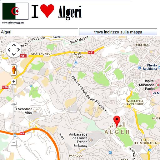 Algeri maps