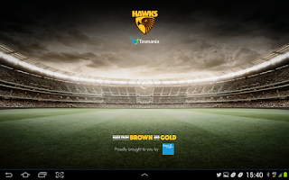 Screenshot of Hawthorn Official App