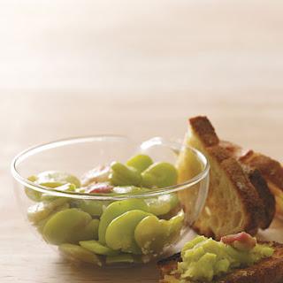 Fava Beans and Pancetta Recipe