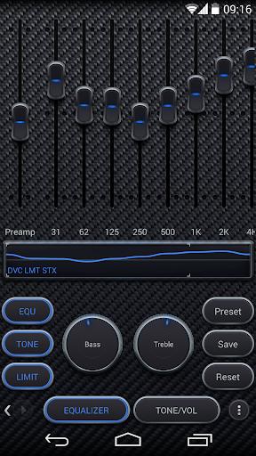 Skin for Poweramp Carbon Fiber  screenshots 2