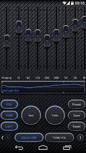 Poweramp skin Carbon Fiber v1.0.1