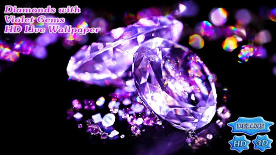Diamonds with Violet Rich Gems- screenshot thumbnail