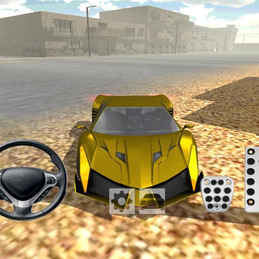 先進的肌肉車模擬器 賽車遊戲 LOGO-玩APPs