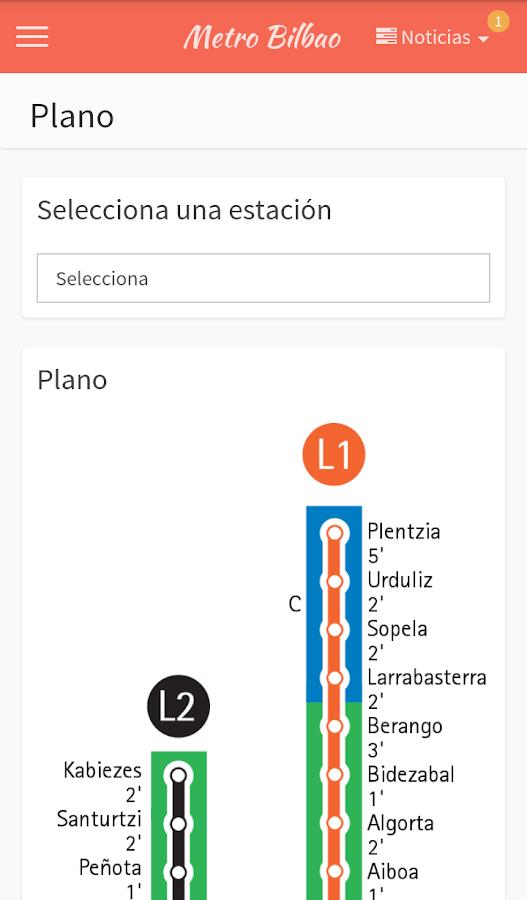 Metro bilbao aplicaciones de android en google play for Oficinas metro bilbao
