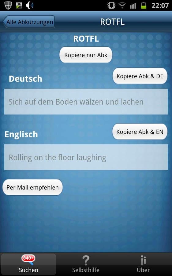 SMS Zeichen & Abkürzungen Pro- screenshot