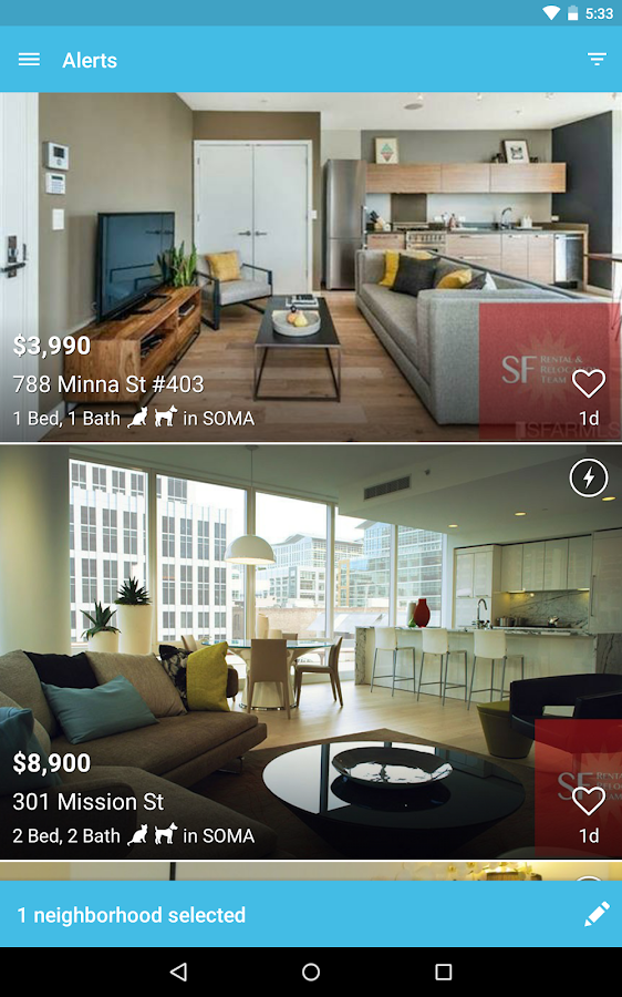 Zumper - Apartments for Rent - screenshot