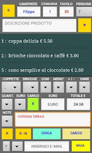 gestione comande gelateria - screenshot thumbnail
