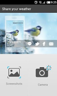 Camera Share GO Weather EX - screenshot thumbnail