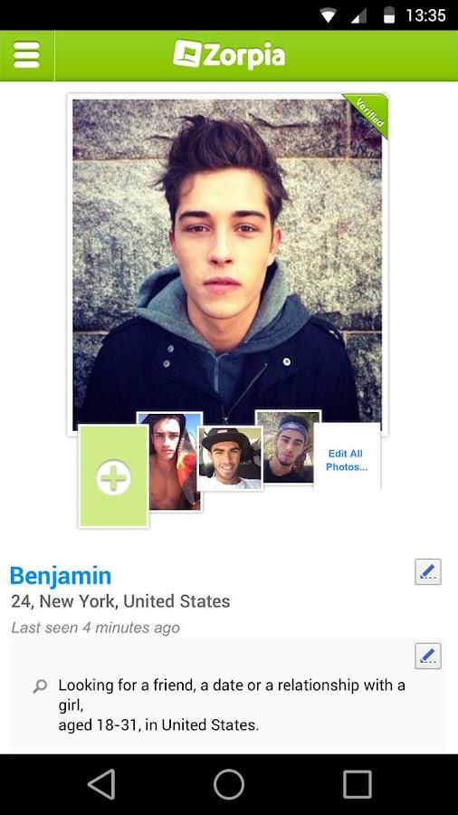 Zorpia - Meet New People! - screenshot