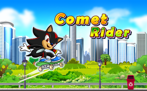 Comet Rider Skateboard Run