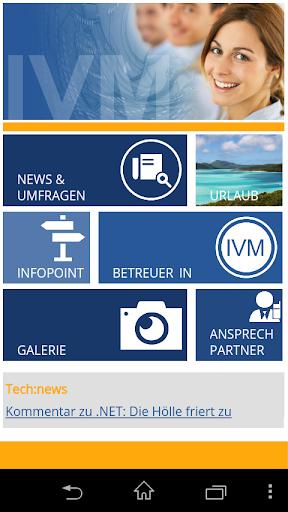 IVM - Die App
