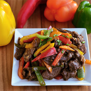 Adobo Peppered Steak