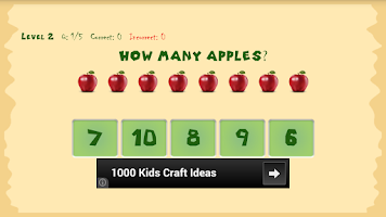 Screenshot of Kids Math
