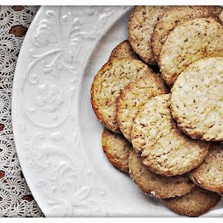 Honey and Tonka Bean Whole Wheat Cookies.